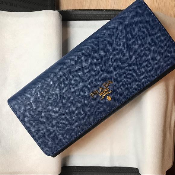 66295beb1806 Prada Saffiano Leather Wallet